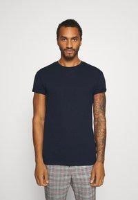 Topman - 3 PACK - Basic T-shirt - white - 3