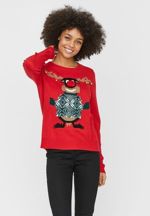 WEIHNACHTS - Jumper - chinese red