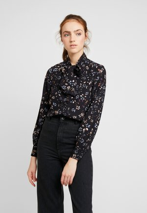 VMMYRANDA TIE - Button-down blouse - deep well/myranda