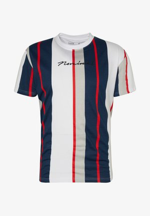 DENIZ TEE - Print T-shirt - red