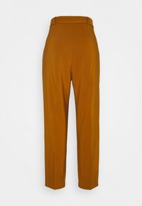 Closet - D-RING WAIST TROUSERS - Trousers - rust - 1