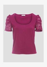 Cache Cache - T-shirt print - violet foncé - 4