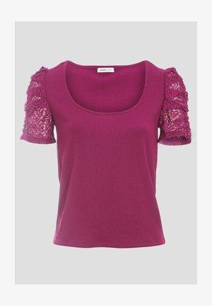 Print T-shirt - violet foncé