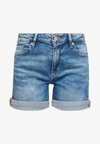 Q/S designed by - Denim shorts - medium blue - 6