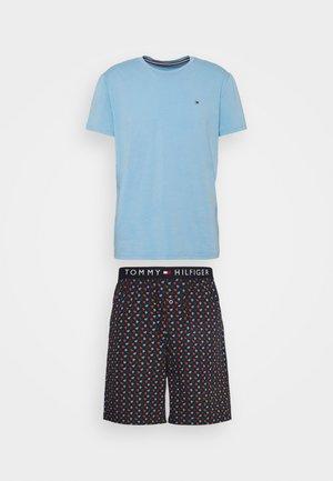 ORIGINAL SHORT PRINT - Pyjama set - calm water
