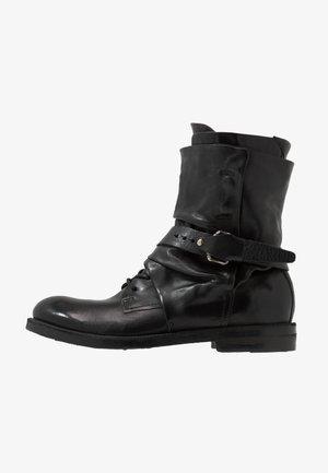 SAMURAI - Cowboy/biker ankle boot - nero