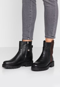 Gioseppo - Platform ankle boots - black - 0