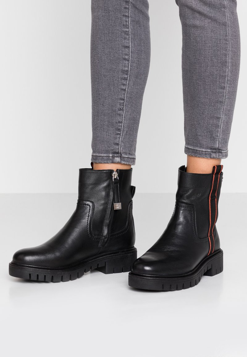 Gioseppo - Platform ankle boots - black