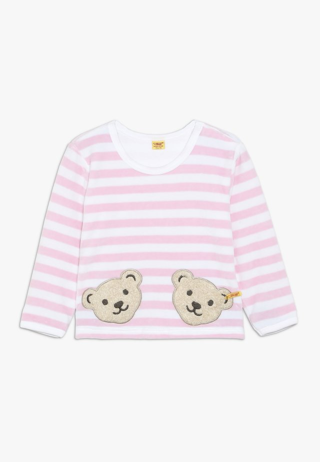 STRIPE BABY - Sweatshirt - barely pink