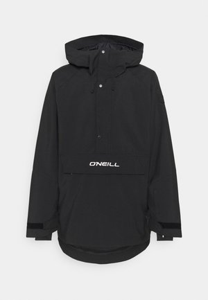 ORIGINAL ANORAK - Snowboard jacket - black out