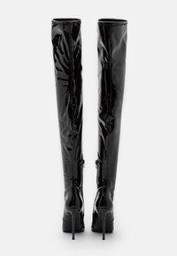 Steve Madden - VAVA - Kozačky na vysokém podpatku - black - 7