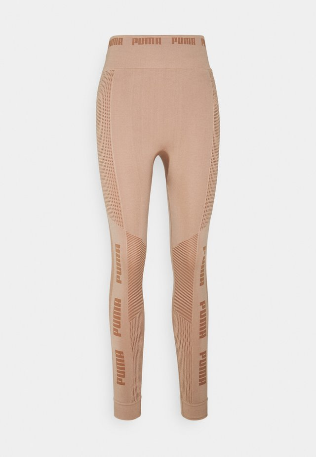 EVOKNIT SEAMLESS LEGGINGS - Collants - chanterelle