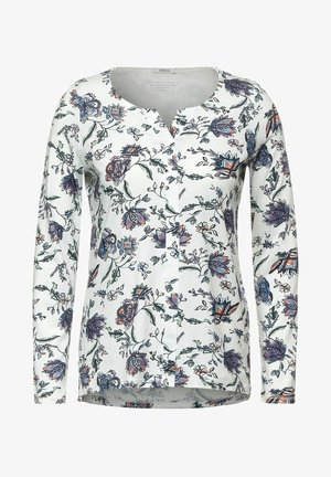 FLOWER-PRINT - Blouse - weiß