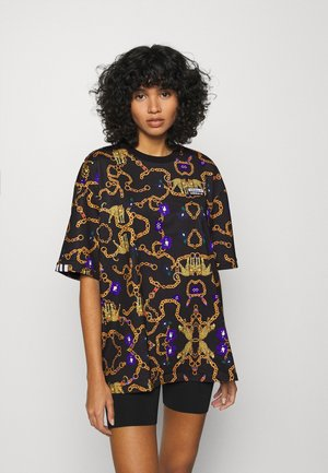 GRAPHICS LOOSE SHORT SLEEVE TEE - Triko s potiskem - multicolor