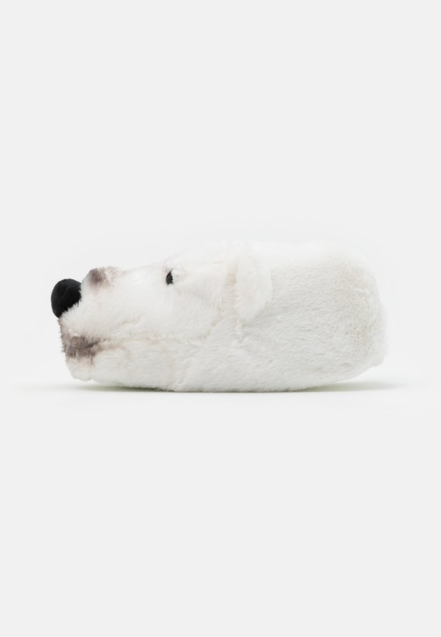 POLAR BEAR SLIPPER - Kapcie - white