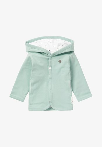 Zip-up sweatshirt - grey mint