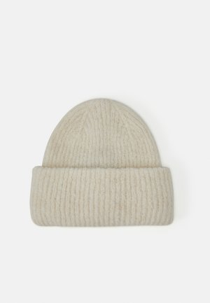 PCBERA HOOD  - Beanie - cloud dancer