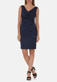 Vera Mont - MIT RAFFUNG - Shift dress - night sky - 0