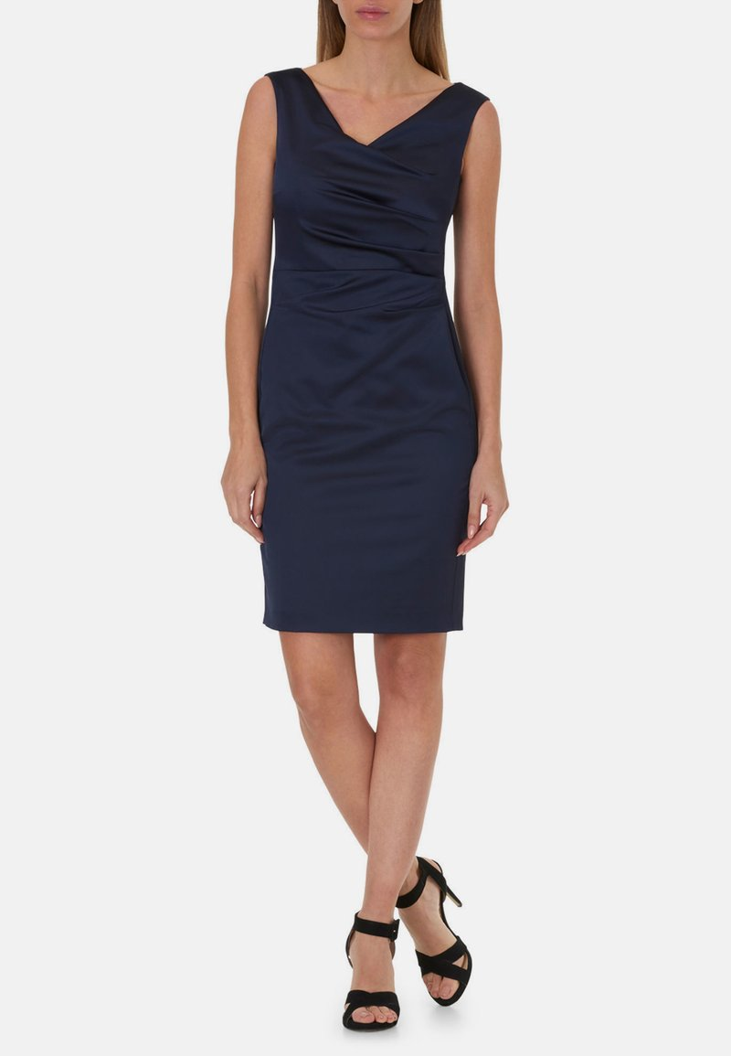 Vera Mont - MIT RAFFUNG - Shift dress - night sky