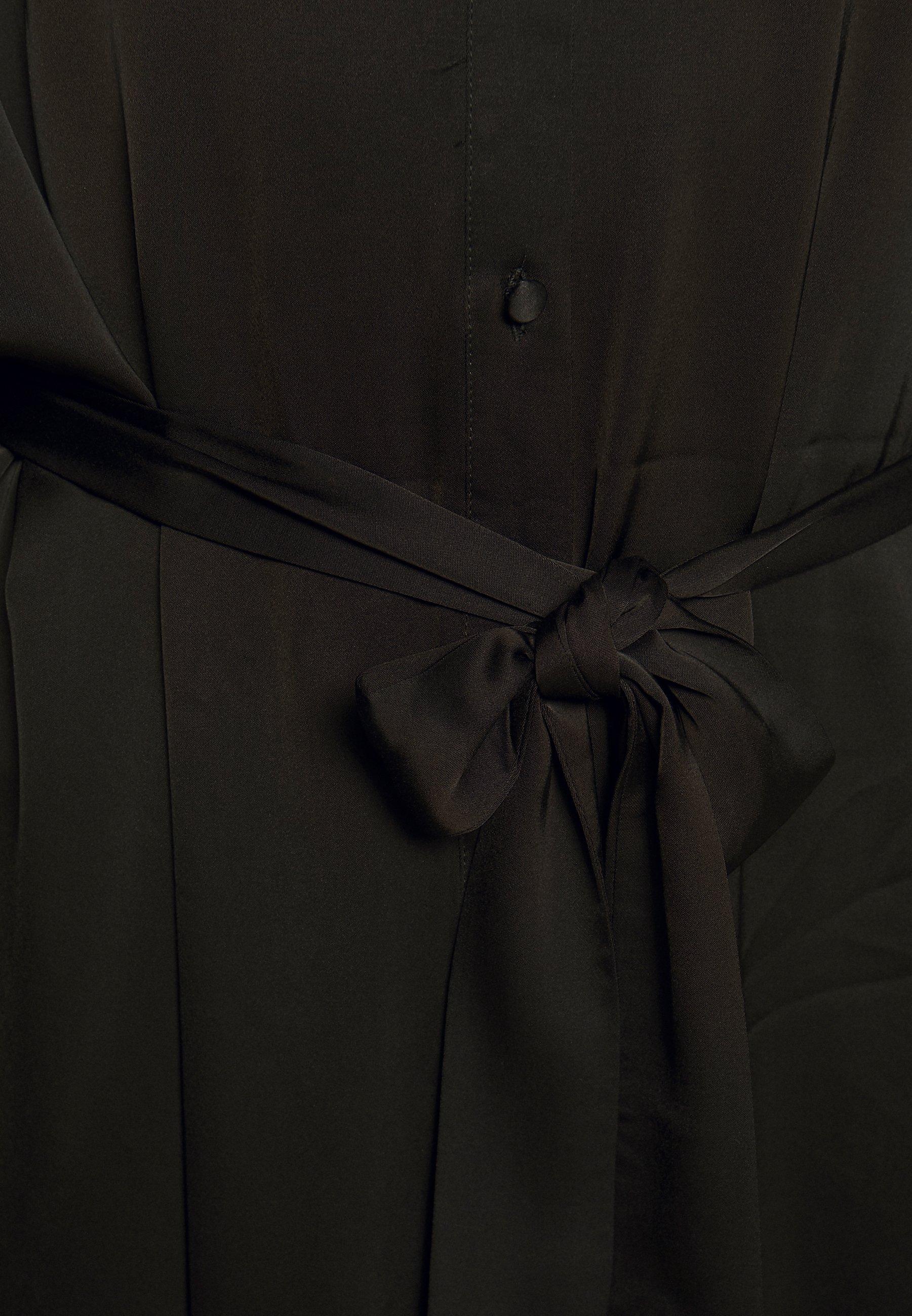 Carin Wester DRESS FLYNNE KAFTAN Skjortklänning black
