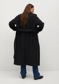Mango - PAINT - Classic coat - schwarz - 1