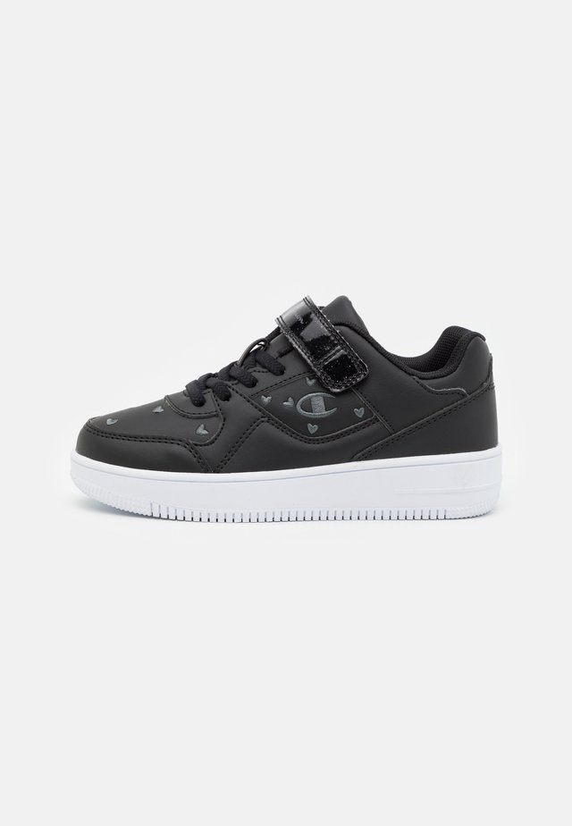 LOW CUT SHOE REBOUND - Chaussures de basket - black