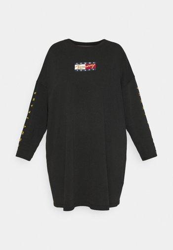 TEE DRESS - Day dress - black