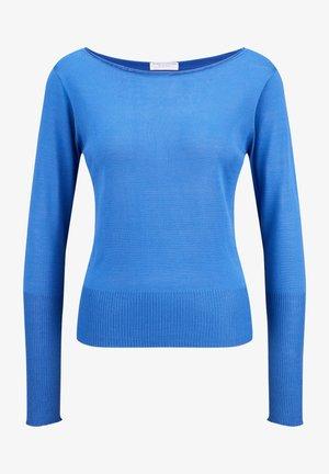 Sweatshirt - lapis blue