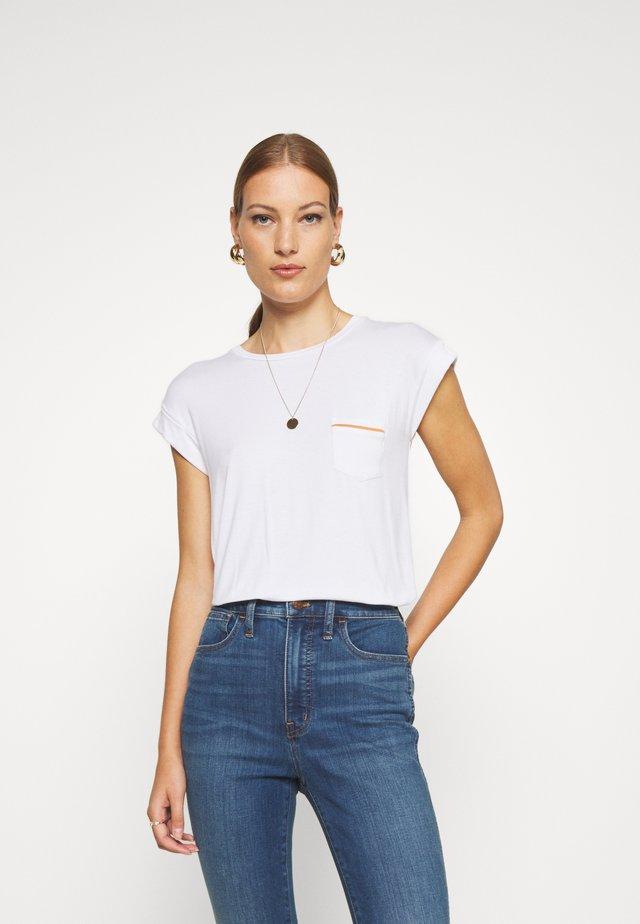 SRVERONIKA - Camiseta básica - snow white
