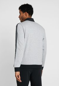 adidas Performance - ESSENTIALS SPORT COTTON TRACKSUIT - Tepláková souprava - medium grey heather/black - 2