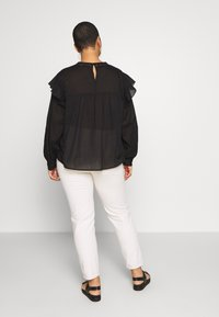 Cotton On Curve - SMOCK BLOUSE - Blouse - black - 2