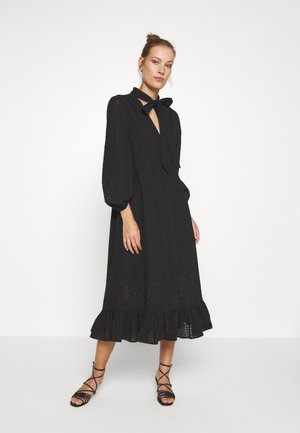 BRONWYN MIDI DRESS - Shirt dress - black