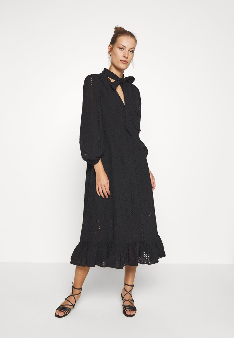 We are Kindred - BRONWYN MIDI DRESS - Košilové šaty - black