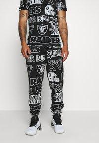 New Era - NFL  RAIDERS JOGGER OAKLAND RAIDERS - Klubové oblečení - black - 0