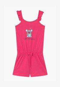 Blue Seven - SMALL GIRLS LOVE EARTH KOALA - Tuta jumpsuit - pink - 0