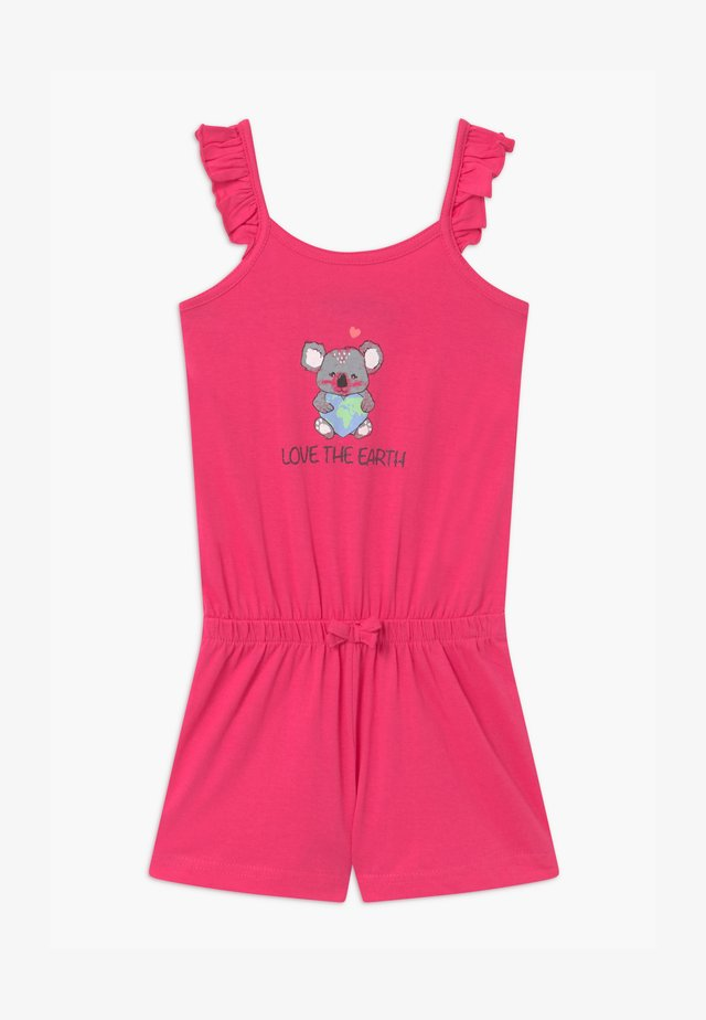 SMALL GIRLS LOVE EARTH KOALA - Jumpsuit - pink