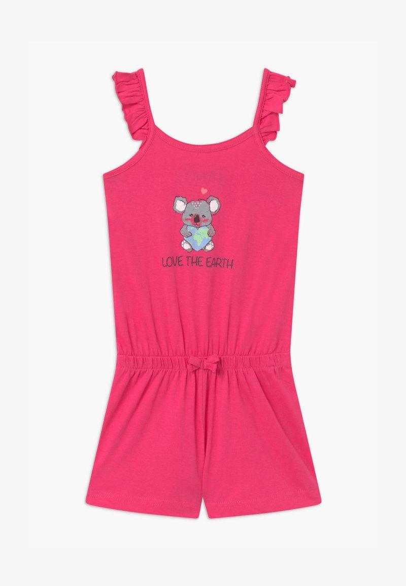 Blue Seven - SMALL GIRLS LOVE EARTH KOALA - Tuta jumpsuit - pink