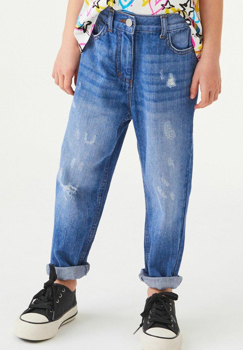 Next - Džíny Straight Fit - blue