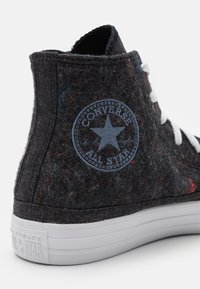 Converse - CHUCK TAYLOR ALL STAR RENEW UNISEX - High-top trainers - black/lakeside blue/white - 5