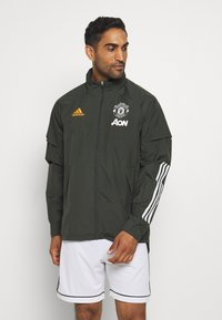adidas Performance - MANCHESTER UNITED SPORTS FOOTBALL JACKET - Equipación de clubes - olive - 0