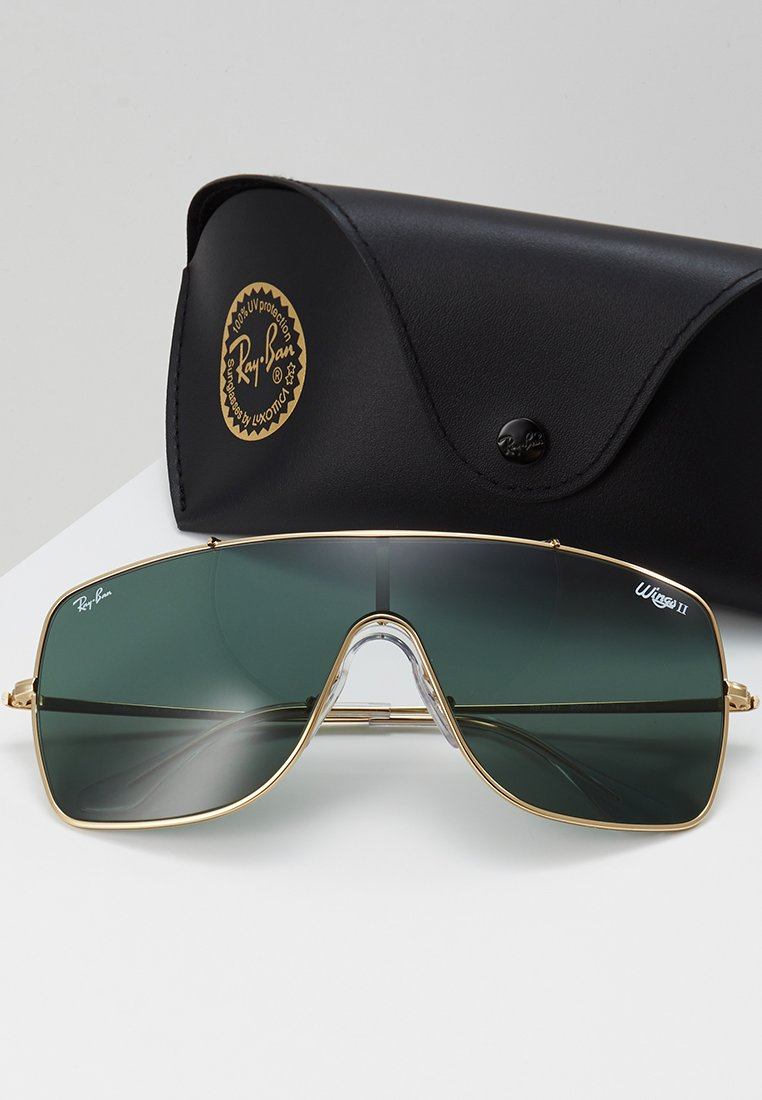 Ray-Ban WINGS II - Solbriller - gold-coloured/gull ZVm9bfM8RO84ahK