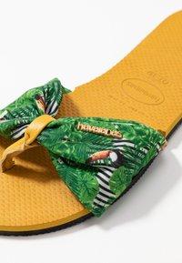 Havaianas - YOU TROPEZ - Sandaler m/ tåsplit - burned yellow - 2