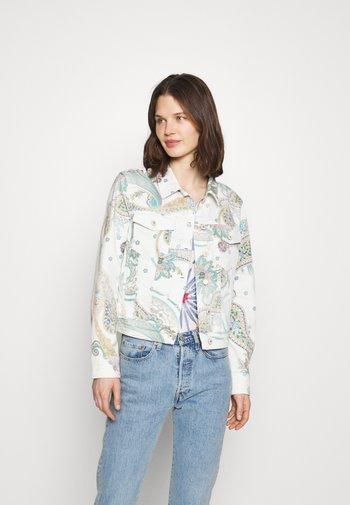 PALY - Kurtka jeansowa - white