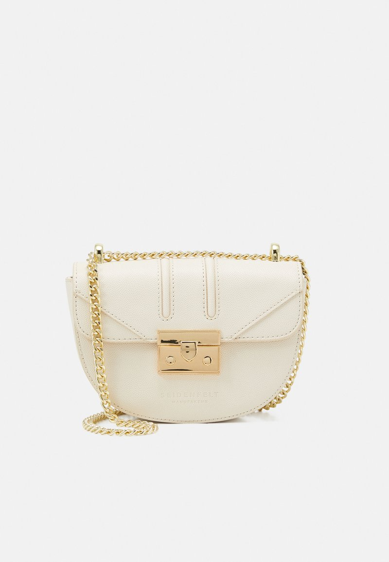 Seidenfelt - ROROS MOON - Across body bag - beige/gold-coloured