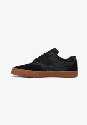 KALIS VULC UNISEX - Sneakers laag - black/black/gum
