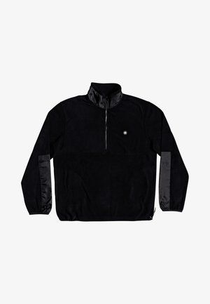 WILTON - Fleecepullover - black