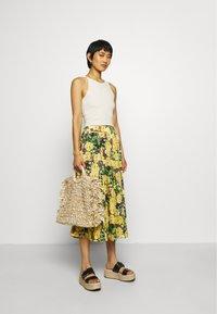 Gestuz - CASSIAGZ SKIRT  - A-line skirt - yellow - 1
