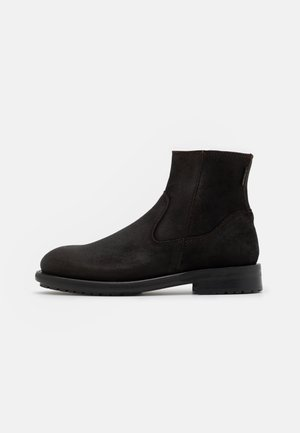 MARKHAM - Classic ankle boots - coffee