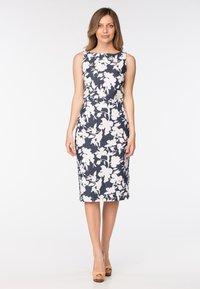 Diyas London - ADELANE - Shift dress - flower print - 5