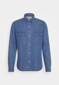 UTILITY SHIRT - Košile - blue